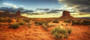 Storm clouds threaten the fragile deserts of Arizona