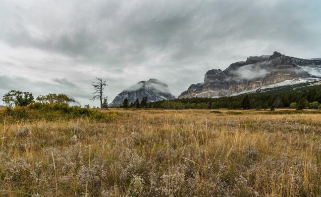 Glacier-Cloudy